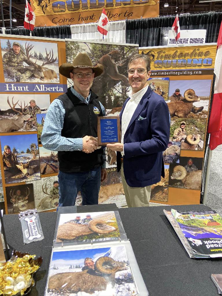 Bighorn Sheep Hunting Award